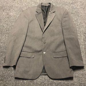 Men's gray suit jacket-Covington 38R